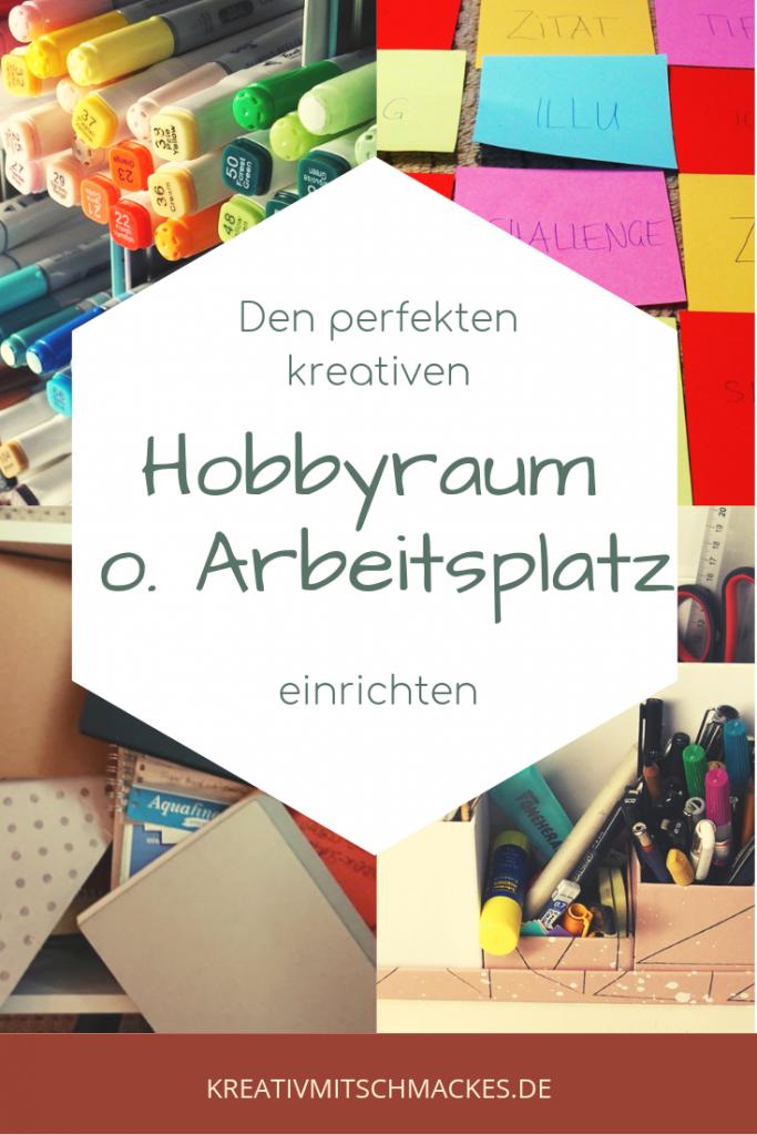Den perfekten kreativen Hobbyraum oder Arbeitsplatz einrichten