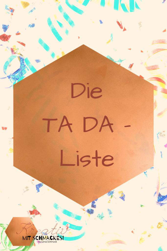 Die TA DA - Liste