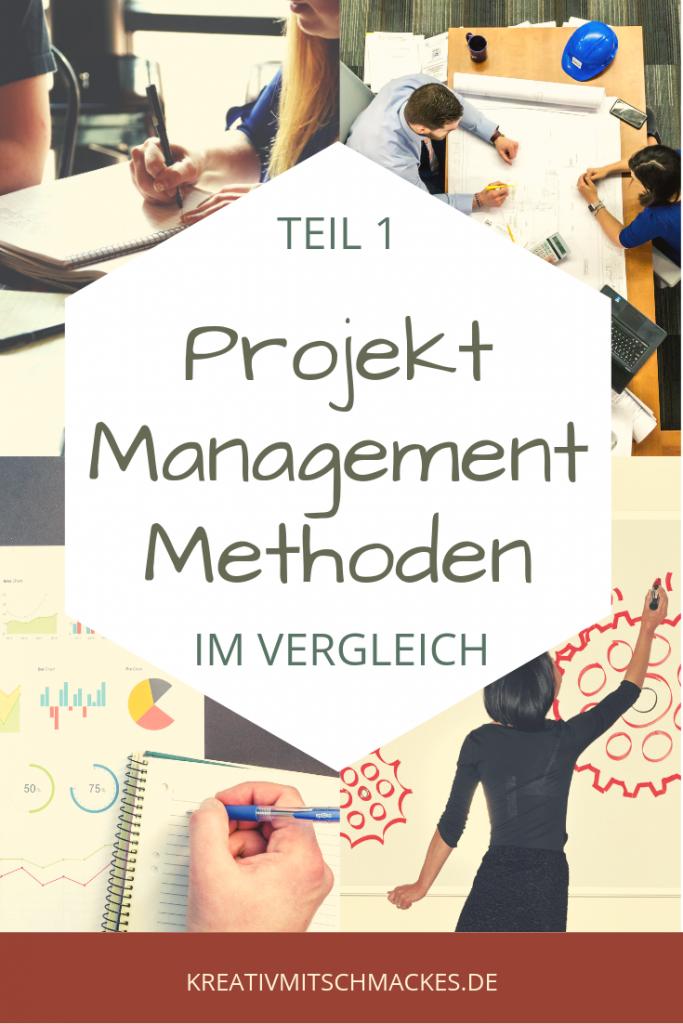Projekt Management Methoden   im Vergleich