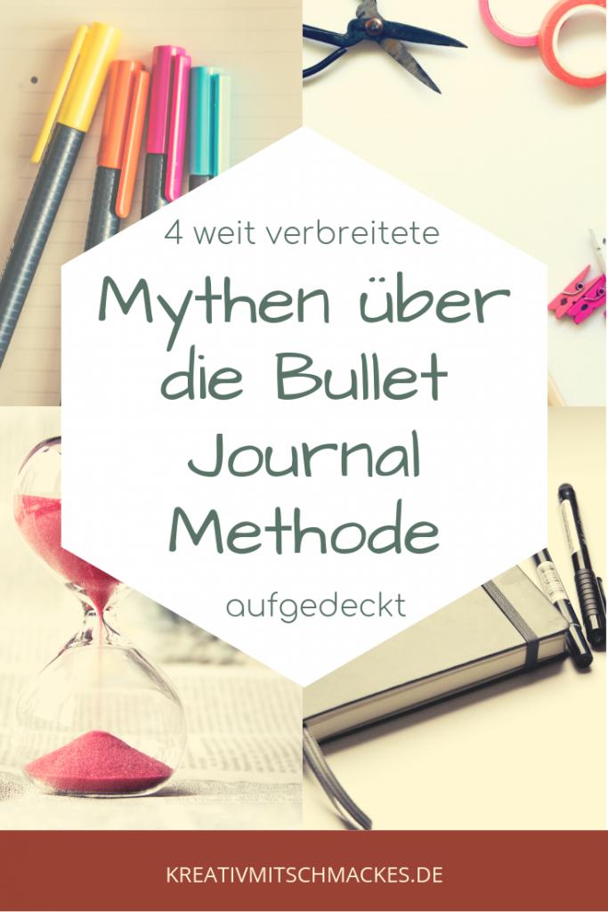 4 weit verbreitete Mythen über die Bullet Journal Methode aufgedeckt